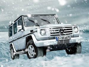 加版奔驰G500