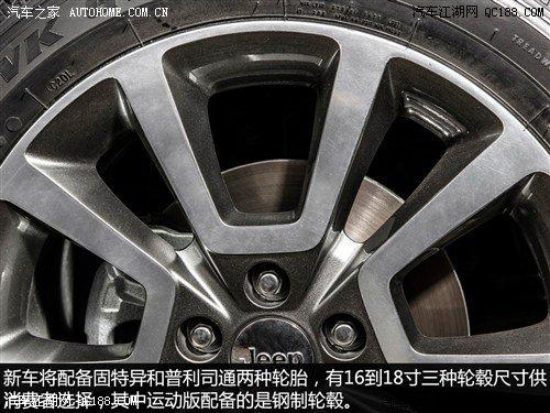 指南者车轮轮胎详解 权威评测 Jeep吉普高清图片