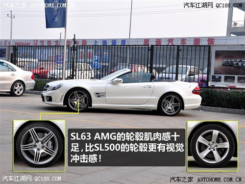 奔驰 进口 奔驰SL级车轮轮胎详解高清图片