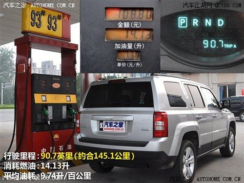 自由客油耗详解 权威评测 Jeep吉普