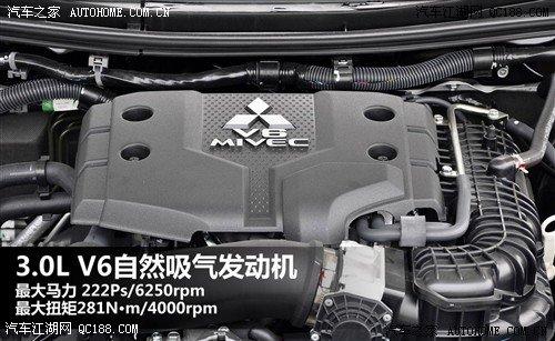 汽车之家 三菱 进口 帕杰罗 劲畅 2011款 3.0l 运动导航版高清图片