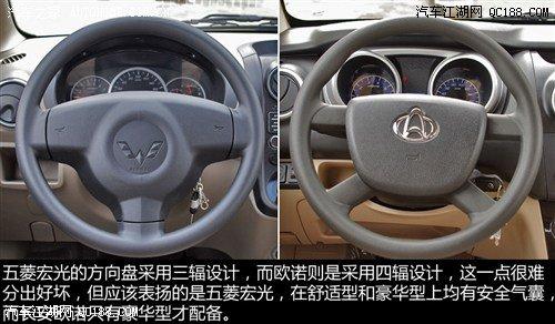 长安汽车-欧诺中控方向盘