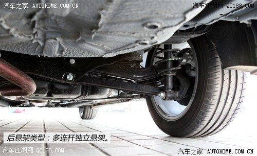 绅宝d70前后悬架详解 权威评测 北京汽车 高清图片