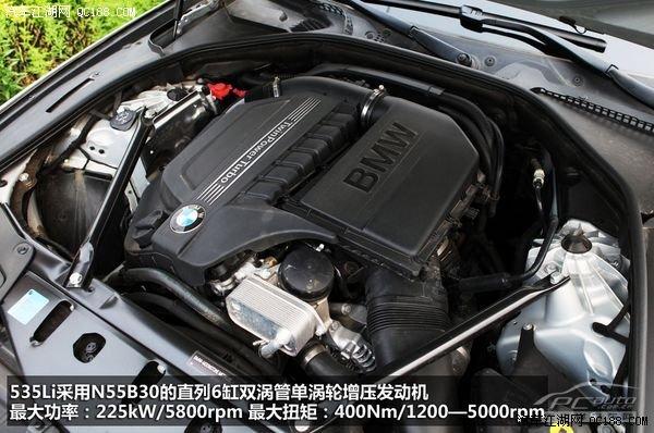 宝马5系 2011款 535li 行政型  动力:动力充沛 变速箱平顺