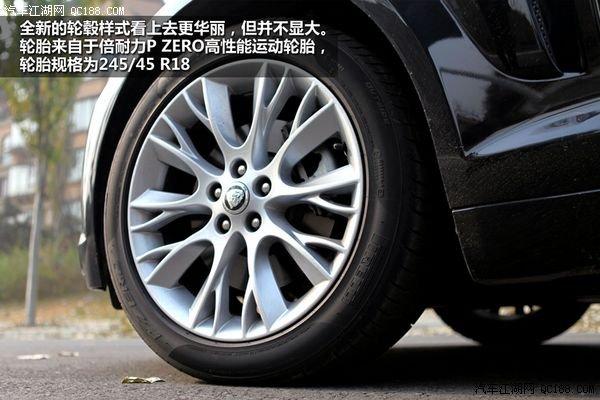 捷豹xf轮胎规格详解 权威评测 捷豹高清图片