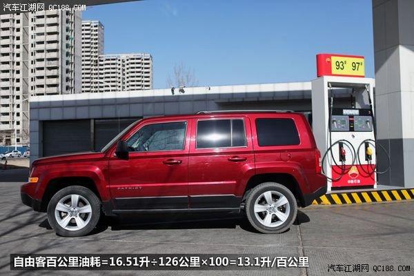 自由客油耗测试详解 权威评测 Jeep吉普