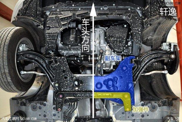 【精图】轩逸底盘细节详解_权威评测_东风日产_汽车