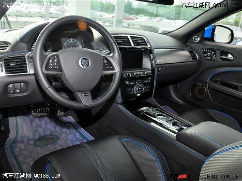 捷豹XK中控方向盘详解 权威评测 捷豹高清图片