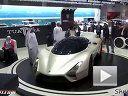 挑战布加迪:神车SSC Tuatara亮相迪拜车展