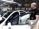 高度自动化 奔驰W204 C级生产线实拍