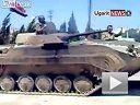 大物偷闲-叙利亚军用坦克作甩尾圈漂移