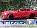 2015 Ford Mustang GT V8 MT -0-100 kmh加速测试