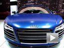 2013奥迪R8 V10 Spyder加速度!响亮的排气声!