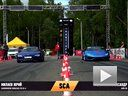 Lamborghini Huracan 直线加速vs Audi R8 V10 (stock)