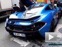 汉密尔顿的订制蓝色迈凯轮 McLaren P1