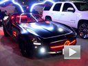 超炫酷 奔驰 SLS 鸥翼门加装LED灯