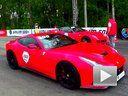 Ferrari F12 Berlinetta 直线加速vs Ferrari 599 GTO