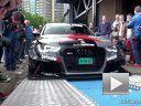 Jon Olsson定制版 1000HP 奥迪RS6 DTM 秀排气声浪